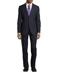 Hugo Boss James/Sharp Check Two-Piece Suit - Lyst