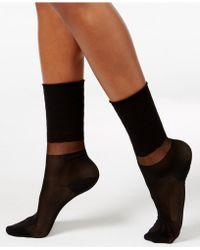 Vince Camuto - Women's Filament Block Trouser Socks - Lyst
