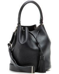 Anya Hindmarch Vaughan Leather Bucket Bag - Lyst