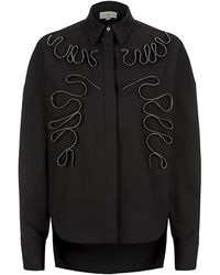 Stella McCartney Black Evan Shirt - Lyst