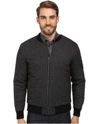 Calvin Klein Jeans Wool Bomber W/ Fill - Lyst