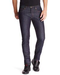 Hugo 734  Skinny Fit Cotton Blend Jeans - Lyst