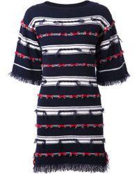 Barrie Striped Dress - Lyst
