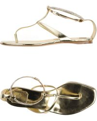 Dior Thong Sandal - Lyst