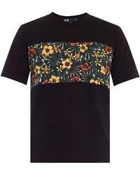 Y-3 Aloha Floral-Print T-Shirt - Lyst