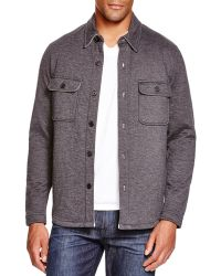 Billy Reid - Darryl Regular Fit Shirt Jacket - Lyst