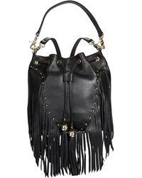 Dolce Vita Drawstring Fringed Bag Lyst