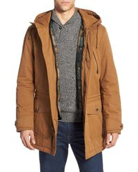 Pendleton - 'ballard' Water Resistant Hooded Parka With Removable Vest Liner - Lyst