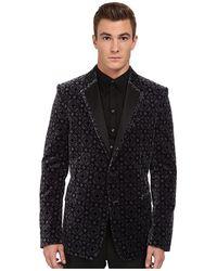 Versace Brocade Pattern Blazer - Lyst