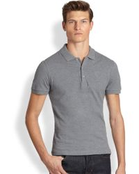 Versace Basic Polo Shirt - Lyst