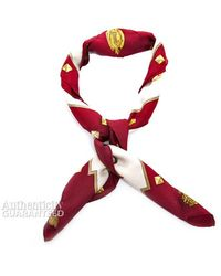 Hermes Les Cles Silk Scarf - Lyst