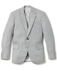 Brooklyn Tailors - Handmade Super 120s Wool Twill Jacket - Lyst