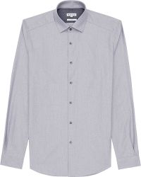 Reiss Nero Relaxed Cotton Shirt - Lyst