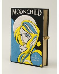 Olympia Le-Tan 'Moonchild' Embroidered Clutch - Lyst
