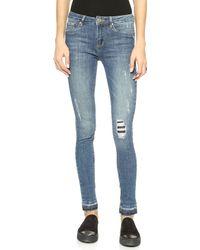 Zoe Karssen The End Skinny Jeans  - Lyst