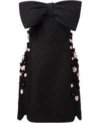 Giambattista Valli Flower Embellished Dress - Lyst