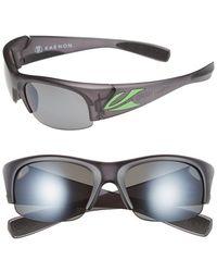 Kaenon | 'hard Kore' 63mm Polarized Sunglasses - Graphite/ Green/ Grey G12 | Lyst