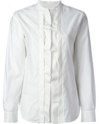 Issa Bronwen Pleated Front Shirt - Lyst