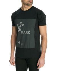 Marc By Marc Jacobs Black Basic Tshirt - Lyst