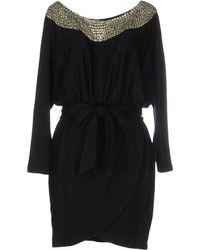 Halston Heritage   Short Dress   Lyst