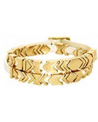 House Of Harlow 1960 Aztec Wrap Bracelet gold - Lyst