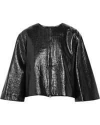 Roksanda Ilincic Coated Bouclã Jacket - Lyst