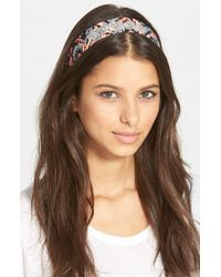 Berry - 'ms. Summers' Head Wrap - Lyst