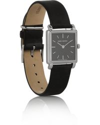 Isabel Marant Stainless Steel and Leather Watch - Lyst