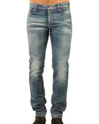 Fendi Blue Jeans Azzurro - Lyst