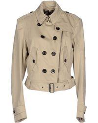 Burberry Brit Full-Length Jacket beige - Lyst
