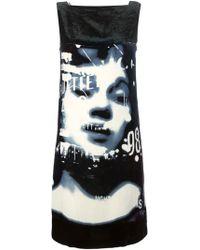 Jean Paul Gaultier 'La Culture Noire Et Sa Force' Dress black - Lyst