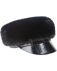 Eugenia Kim Therese Faux-Fur Army Hat - Lyst