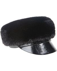 Eugenia Kim Therese Fauxfur Army Hat - Lyst