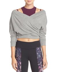 Karma - 'margot' Cover-up Crop Top - Lyst