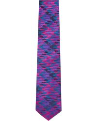 Duchamp Large Dogtooth Tie - Lyst