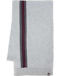 Victorinox - Contrast Stripe Knit Scarf - Lyst