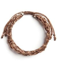 Wakami - Life Is What You Make Of It: 7 Strand (brown) - Lyst