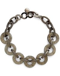 Pono - Resin Choker Necklace - Pewter - Lyst