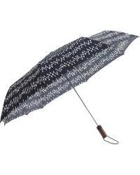 J.Crew Pocket Umbrella blue - Lyst