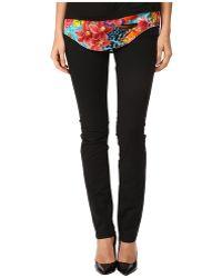 Versace Jeans Black Slim Fit Jeans - Lyst