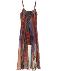 Camilla The Indigo Trail Embellished Dress multicolor - Lyst