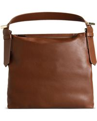 Reed Krakoff Large Leather Bag brown - Lyst