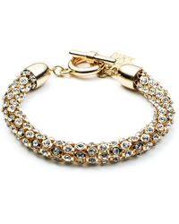 Anne Klein - Multi-row Flex Bracelet - Lyst