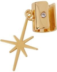 MFP MariaFrancescaPepe - Northern Star 23kt Gold-plated Ear Cuff - Lyst