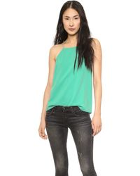 Tibi Savanna Square Neck Camisole  - Lyst