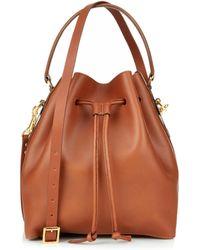 Sophie Hulme Large Bucket Bag - Lyst