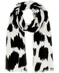 Burberry Prorsum - Cashmere, Wool And Silk Fil Coupé Scarf - Lyst