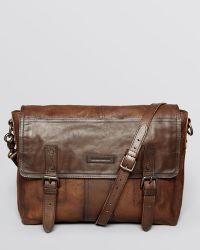 Frye - Trevor Washed Leather Messenger Bag - Lyst