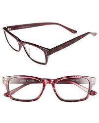 Corinne Mccormack - 'edie' 50mm Reading Glasses - Berry - Lyst