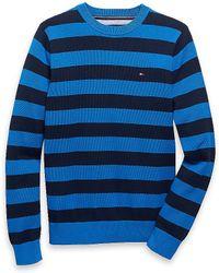 Tommy Hilfiger Signature Stripe Sweater - Lyst